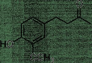 Strukturformel von Zingeron